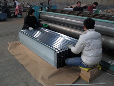 Corrugation roofing sheet